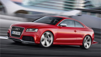 Audi RS5 Unveiled at Geneva, to be released for delivery in October 2010