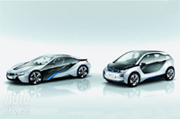 Brand New BMW I3 and I8