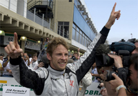 Jenson Button takes the F1 World Championship