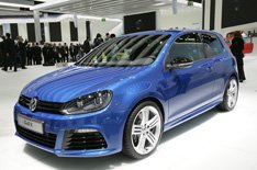 Golf R Sideview Frankfurt