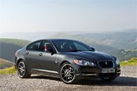 New Jaguar XF Black