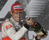 Jenson Button Wins Down Under