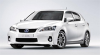 New Lexus CT 200h