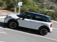New Mini Countryman Plus 7 Seater