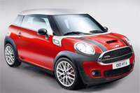 Smallest Mini to date in the famous John Cooper Works Model
