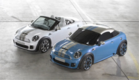 BMW reveal the new Mini Coupe and Roadster for future release