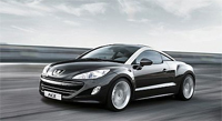 The New Peugeot RCZ Sport Coupe