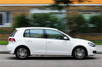 New VW Golf 1.6 TDi 105