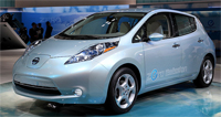 Nissans New Electric Car - Nissan Leaf