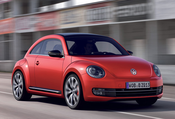 Brand New VW Beetle