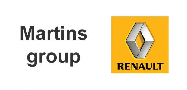 Available from Martins Renault