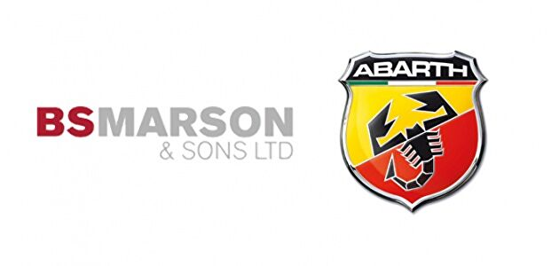 Available from BS Marson & Sons ltd Abarth