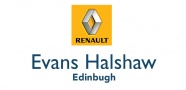 Available from Evans Halshaw Renault Edinburgh