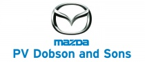 Available from PV Dobson & Sons Motors Ltd Mazd