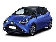 Representative car leasing image for the Toyota Aygo Hatchback 1.0 VVT-i X-Play 5dr x-shift