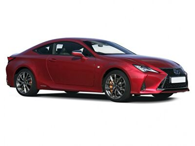 Representative image for the Lexus RC Coupe 300h 2.5 F-Sport 2dr CVT