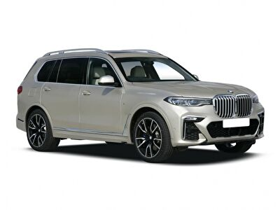 Representative image for the BMW X7 Estate xDrive40i 5dr Step Auto [6 Seat]
