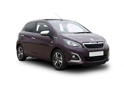 Representative image for the Peugeot 108 Hatchback 1.0 72 Collection 5dr