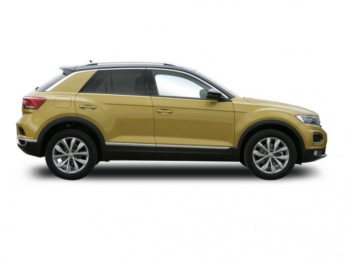 volkswagen t roc diesel hatchback 1 6 tdi r line 5dr lease. Black Bedroom Furniture Sets. Home Design Ideas