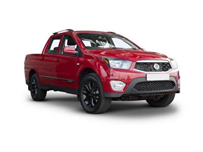 Representative image for the Ssangyong Musso Diesel Pick up SE 4dr 4WD