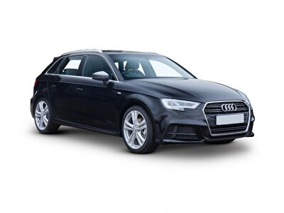 Representative image for the Audi A3 Diesel Sportback 30 TDI 116 Black Edition 5dr