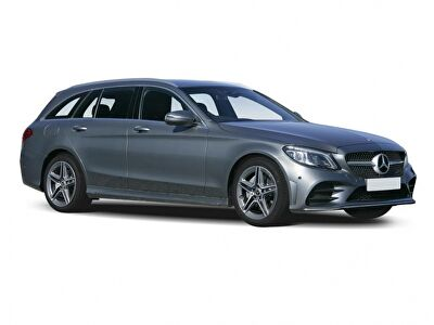 Representative image for the Mercedes-Benz C-Class Estate Special Editions C300e AMG Line Night Ed Premium Plus 5dr 9G-Tronic
