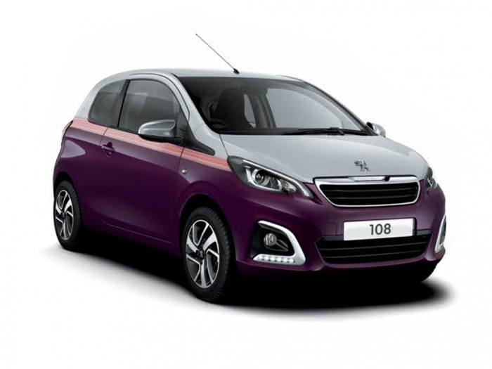 Representative image for the Peugeot 108 Hatchback 1.0 Active 5dr