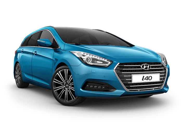 Representative image for the Hyundai I40 Diesel Tourer 1.7 CRDi Blue Drive SE Nav 5dr DCT