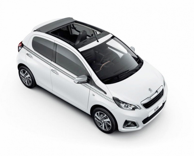 Representative image for the Peugeot 108 Top Hatchback 1.2 PureTech Allure 5dr