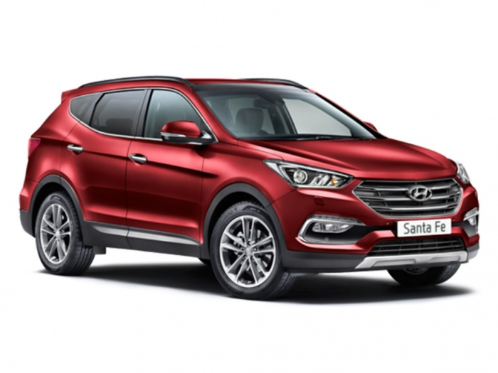 Representative image for the Hyundai Santa Fe Diesel Estate 2.2 CRDi Blue Drive Premium 5dr [7 Seats