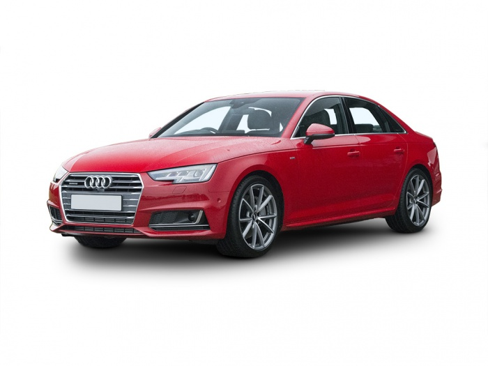 Representative image for the Audi A4 Saloon Special Editions 2.0 TDI 190 Quattro Black Edition 4dr S